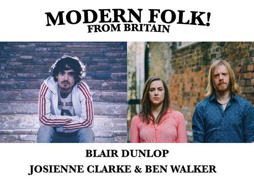 BLAIR DUNLOP AND JOSEIENNE CLARKE AND BEN WALKER